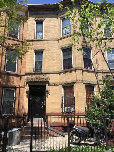 Brooklyn Multi Family Home For Sale: 897 Jefferson Ave