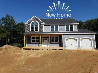 Manorville Single Family Home For Sale: Lot #4 Weeks Ave