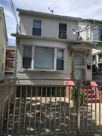 Elmhurst Single Family Home For Sale: 88-15 Saint James Ave