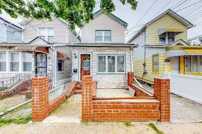 Jamaica Single Family Home For Sale: 145-17 123rd Ave