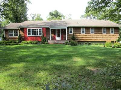Setauket Single Family Home For Sale: 34 Mud Rd