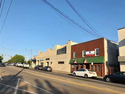 Patchogue Commercial For Sale: 184 W Main St