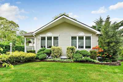 Patchogue Single Family Home For Sale: 134 Lake Shore Dr