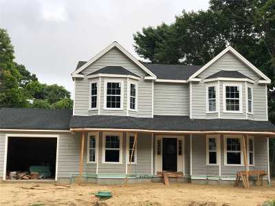 Center Moriches Single Family Home For Sale: 77 Senix Ave