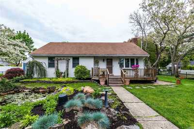 Smithtown Single Family Home For Sale: 43 William St