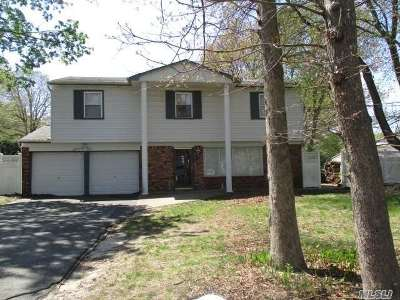 Centereach Single Family Home For Sale: 74 Woodview Ln