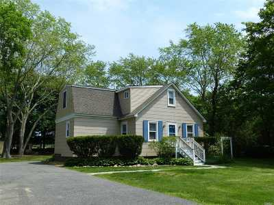 Manorville Single Family Home For Sale: 17 Wright Rd