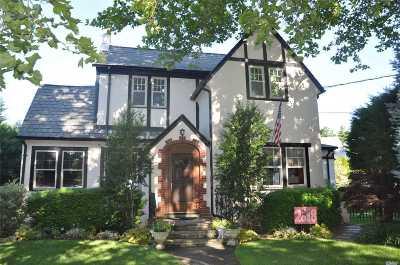 Rockville Centre Single Family Home For Sale: 14 Virginia Ave