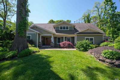 E. Setauket Single Family Home For Sale: 4 West Rd