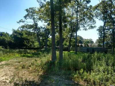 Patchogue Residential Lots & Land For Sale: Vacant Lot Comet Pl