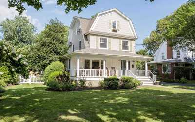 Rockville Centre Single Family Home For Sale: 60 Broadway