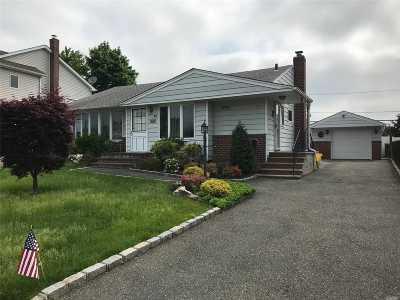 Hicksville Single Family Home For Sale: 66 Vassar Ln