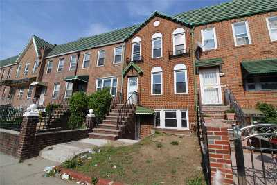 Brooklyn Multi Family Home For Sale: 689 E 43rd St