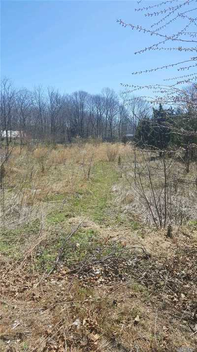 Center Moriches Residential Lots & Land For Sale: Reeves Rd