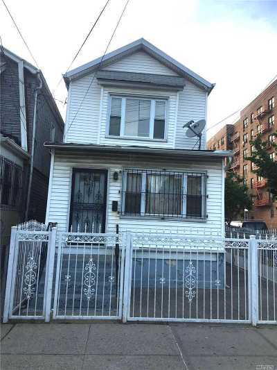 Jamaica Single Family Home For Sale: 168-23 89th Ave