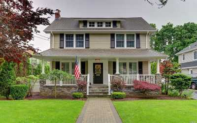 Rockville Centre Single Family Home For Sale: 422 Lakeview Ave