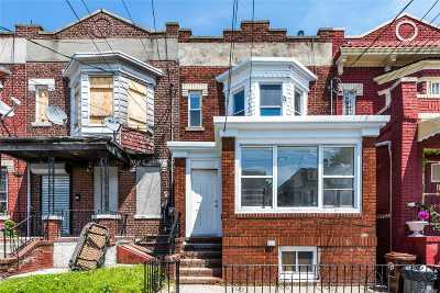 Woodhaven Multi Family Home For Sale: 87-29 75th St