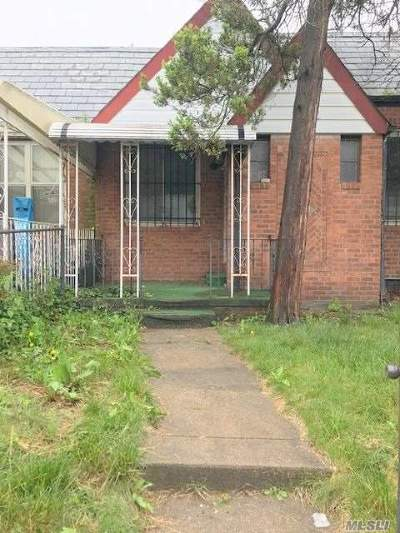 Jamaica Single Family Home For Sale: 171-14 119th Rd