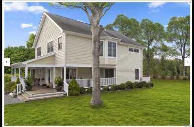 Southampton Single Family Home For Sale: 129 Sebonac Rd