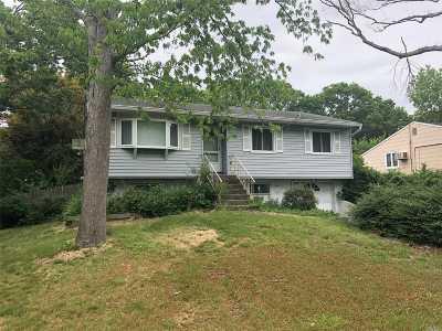 Selden Single Family Home For Sale: 61 Cedarhurst Ave
