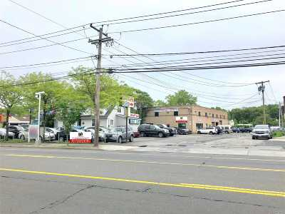 Patchogue Commercial For Sale: 488 E Main St