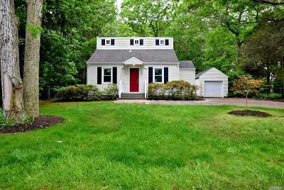 Nesconset Single Family Home For Sale: 352 Gibbs Pond Rd