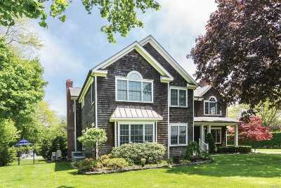 Southampton Single Family Home For Sale: 50 Narrow Ln