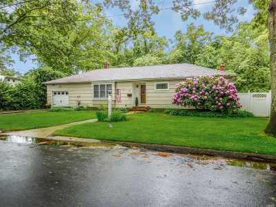 Patchogue Single Family Home For Sale: 4 Oxbow Rd