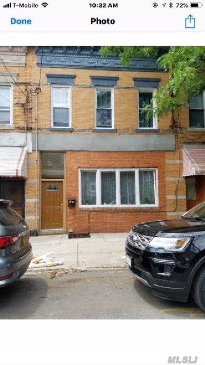 Ridgewood Multi Family Home For Sale: 68-12 60 St