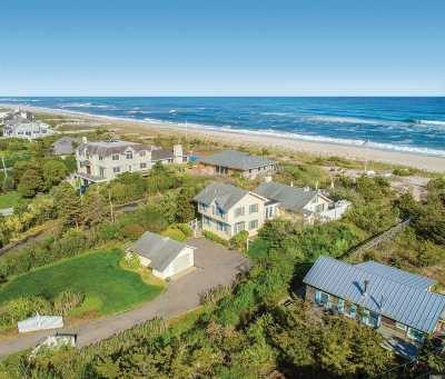 Quogue Single Family Home For Sale: 96 And 98 Dune Rd