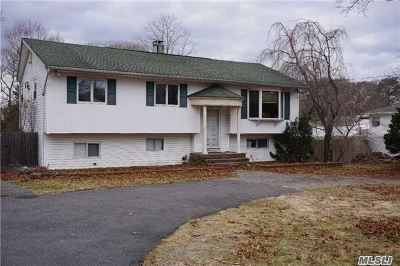 Selden Single Family Home For Sale: 146 N Evergreen Dr