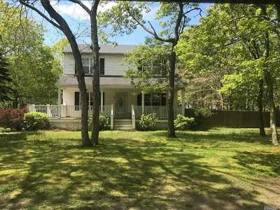 East Hampton Single Family Home For Sale: 5 Amagansett Dr