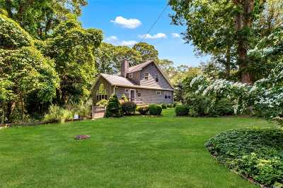 Sag Harbor Single Family Home For Sale: 42 Mill Rd