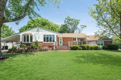 Centereach Single Family Home For Sale: 104 Wagon Ln