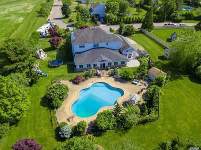 Manorville Single Family Home For Sale: 112 Vista Ln