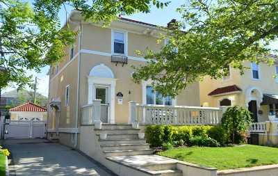 Long Beach NY Single Family Home For Sale: $899,000