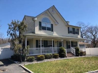 Centereach Single Family Home For Sale: 89 Holbrook Rd