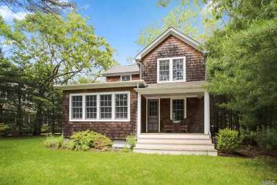 Quogue Single Family Home For Sale: 19 Scrub Oak Rd