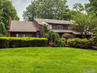 Setauket Single Family Home For Sale: 43 Caleb Brewster Rd