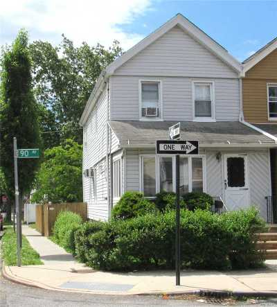 Woodhaven Single Family Home For Sale: 80-72 90th Ave