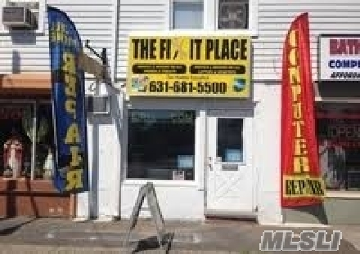Patchogue Commercial For Sale: 224 Medford Ave