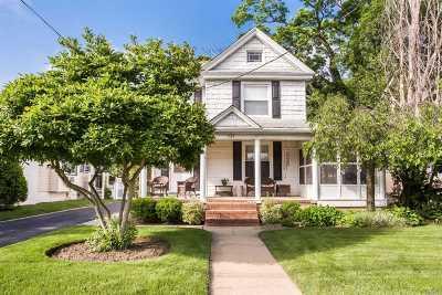 Rockville Centre Single Family Home For Sale: 139 Cedar Ave
