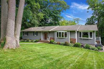 Setauket NY Single Family Home For Sale: $499,000