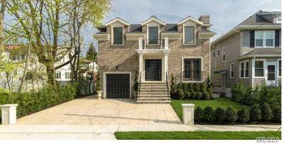 Cedarhurst Single Family Home For Sale: 583 Grant Place