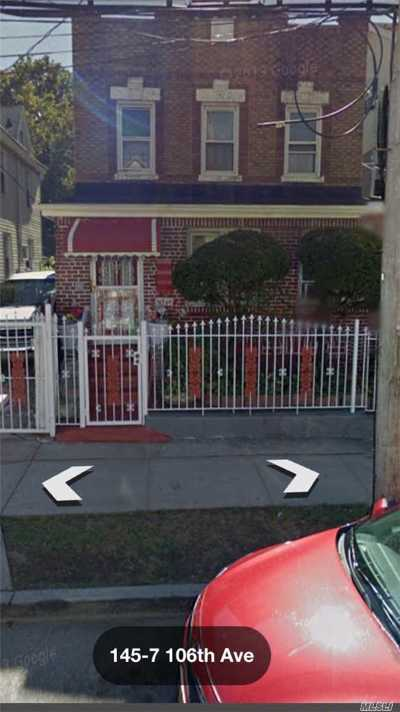 Jamaica Multi Family Home For Sale: 145-06 106th Ave