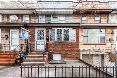 Woodhaven Single Family Home For Sale: 91-33 91st St