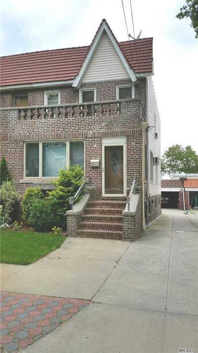 Glendale Single Family Home For Sale: 87-37 Union Tpke