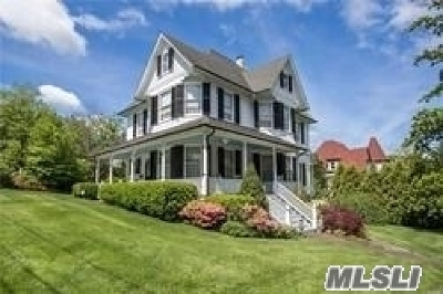 Port Jefferson Single Family Home For Sale: 102 Oakes St