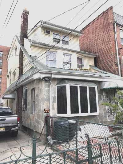 Elmhurst Single Family Home For Sale: 42-39 Elbertson St