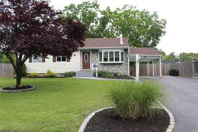 Centereach Single Family Home For Sale: 60 Jay Rd